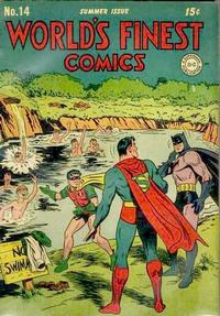 Cover Thumbnail for World's Finest Comics (DC, 1941 series) #14
