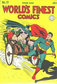 Cover Thumbnail for World's Finest Comics (DC, 1941 series) #17