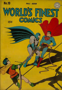 Cover Thumbnail for World's Finest Comics (DC, 1941 series) #19