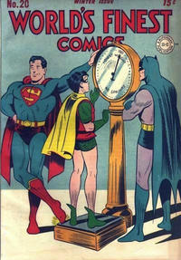 Cover Thumbnail for World's Finest Comics (DC, 1941 series) #20