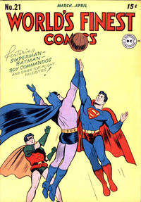 Cover Thumbnail for World's Finest Comics (DC, 1941 series) #21
