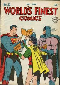 Cover Thumbnail for World's Finest Comics (DC, 1941 series) #22