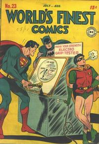 Cover Thumbnail for World's Finest Comics (DC, 1941 series) #23