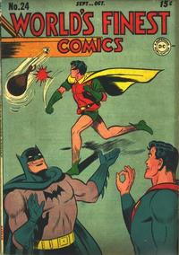 Cover Thumbnail for World's Finest Comics (DC, 1941 series) #24