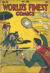 Cover Thumbnail for World's Finest Comics (DC, 1941 series) #25