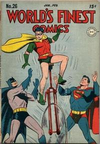 Cover Thumbnail for World's Finest Comics (DC, 1941 series) #26