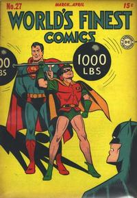 Cover Thumbnail for World's Finest Comics (DC, 1941 series) #27