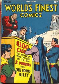 Cover Thumbnail for World's Finest Comics (DC, 1941 series) #28