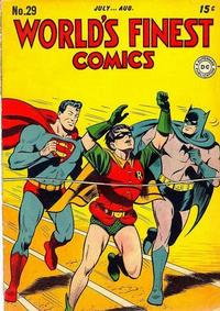 Cover Thumbnail for World's Finest Comics (DC, 1941 series) #29