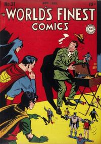Cover Thumbnail for World's Finest Comics (DC, 1941 series) #31