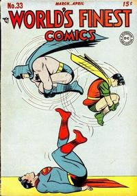 Cover Thumbnail for World's Finest Comics (DC, 1941 series) #33