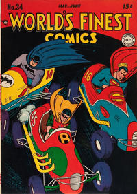 Cover Thumbnail for World's Finest Comics (DC, 1941 series) #34
