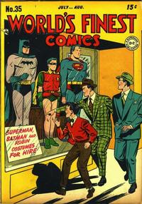 Cover Thumbnail for World's Finest Comics (DC, 1941 series) #35