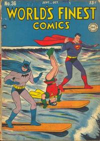 Cover Thumbnail for World's Finest Comics (DC, 1941 series) #36
