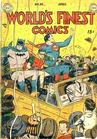 Cover Thumbnail for World's Finest Comics (DC, 1941 series) #39