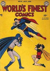 Cover Thumbnail for World's Finest Comics (DC, 1941 series) #41