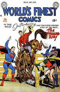 Cover Thumbnail for World's Finest Comics (DC, 1941 series) #42