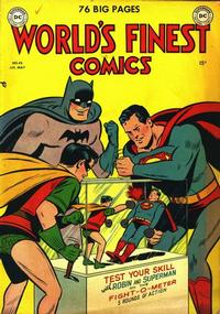 Cover Thumbnail for World's Finest Comics (DC, 1941 series) #45