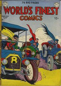 Cover Thumbnail for World's Finest Comics (DC, 1941 series) #50