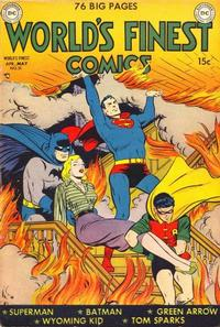 Cover Thumbnail for World's Finest Comics (DC, 1941 series) #51
