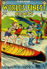 Cover Thumbnail for World's Finest Comics (DC, 1941 series) #53