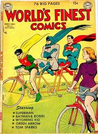 Cover Thumbnail for World's Finest Comics (DC, 1941 series) #54