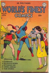 Cover Thumbnail for World's Finest Comics (DC, 1941 series) #56