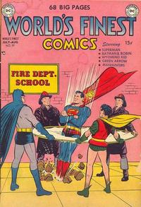 Cover Thumbnail for World's Finest Comics (DC, 1941 series) #59
