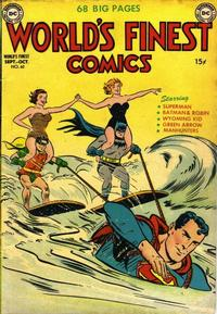 Cover Thumbnail for World's Finest Comics (DC, 1941 series) #60