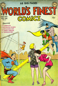 Cover Thumbnail for World's Finest Comics (DC, 1941 series) #61