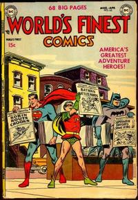 Cover Thumbnail for World's Finest Comics (DC, 1941 series) #63