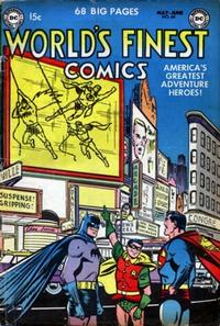 Cover Thumbnail for World's Finest Comics (DC, 1941 series) #64