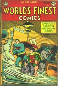 Cover Thumbnail for World's Finest Comics (DC, 1941 series) #66