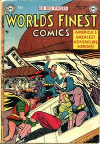 Cover Thumbnail for World's Finest Comics (DC, 1941 series) #67