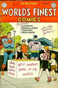 Cover Thumbnail for World's Finest Comics (DC, 1941 series) #69