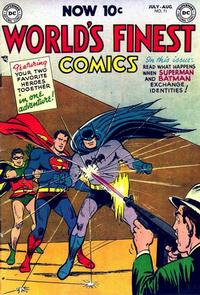 Cover Thumbnail for World's Finest Comics (DC, 1941 series) #71