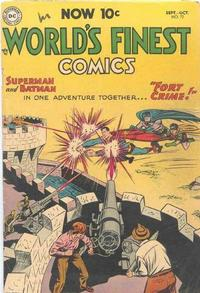 Cover Thumbnail for World's Finest Comics (DC, 1941 series) #72