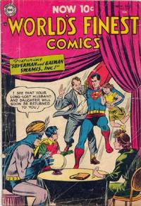 Cover Thumbnail for World's Finest Comics (DC, 1941 series) #73