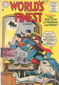 Cover Thumbnail for World's Finest Comics (DC, 1941 series) #75