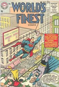 Cover Thumbnail for World's Finest Comics (DC, 1941 series) #76