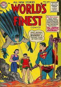 Cover Thumbnail for World's Finest Comics (DC, 1941 series) #77