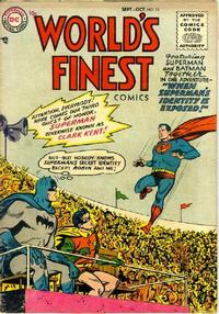 Cover Thumbnail for World's Finest Comics (DC, 1941 series) #78