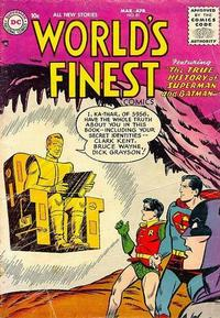 Cover Thumbnail for World's Finest Comics (DC, 1941 series) #81