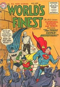 Cover Thumbnail for World's Finest Comics (DC, 1941 series) #82