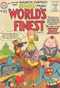 Cover Thumbnail for World's Finest Comics (DC, 1941 series) #83