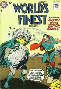 Cover Thumbnail for World's Finest Comics (DC, 1941 series) #95