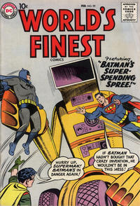 Cover Thumbnail for World's Finest Comics (DC, 1941 series) #99