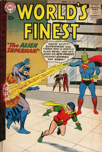 Cover Thumbnail for World's Finest Comics (DC, 1941 series) #105