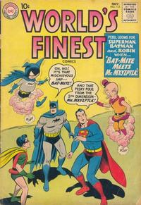 Cover Thumbnail for World's Finest Comics (DC, 1941 series) #113