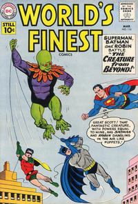Cover Thumbnail for World's Finest Comics (DC, 1941 series) #116